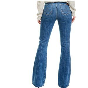 7 For All Mankind Modern A Pocket HVR High-Rise Fl